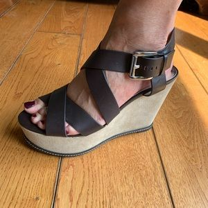 NWOT Authentic Micheal Kors Wedges